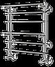 Водяной полотенцесушитель Terminus Вента с полкой П6 510*525 серия Эконом