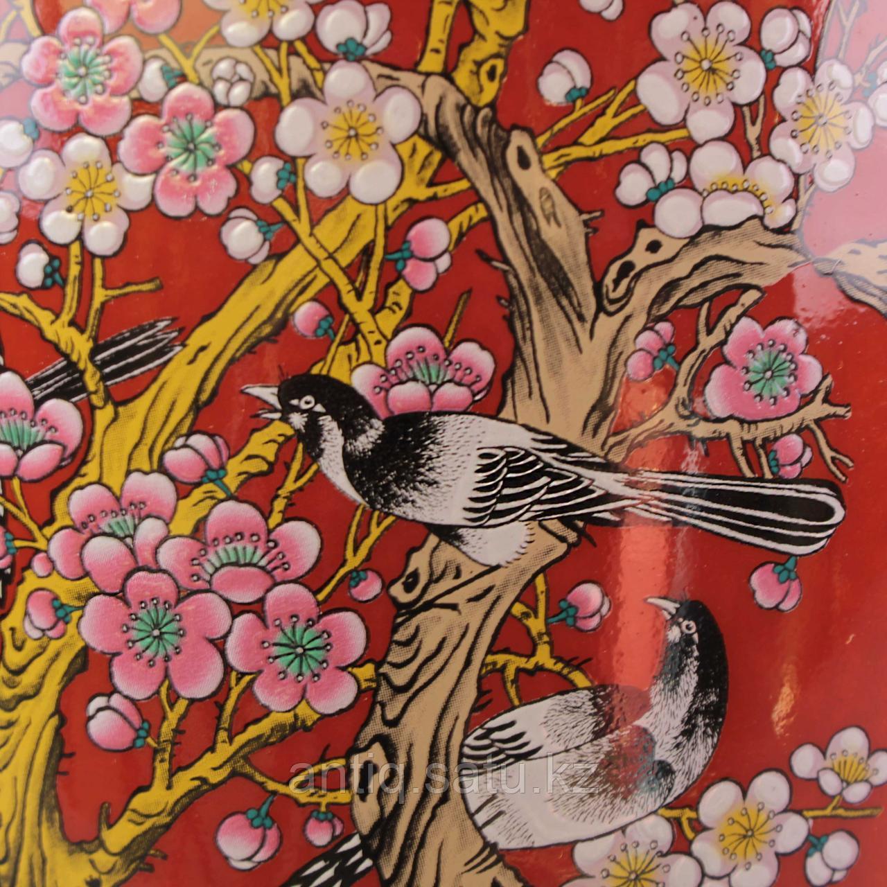 Красные китайские вазы. - фото 4