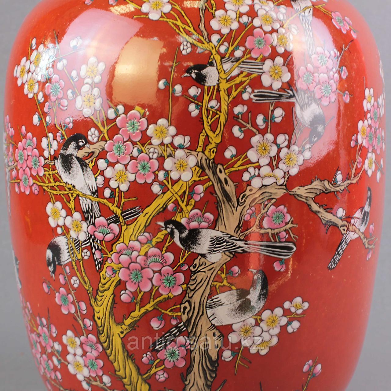 Красные китайские вазы. - фото 5