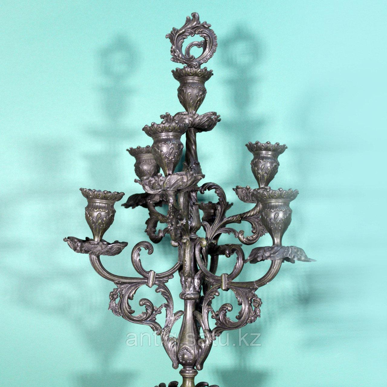 Каминные часы в стиле Историзм Часовая мастерская S. Marti Скульптор Emile Bruchon (1806-1895) - фото 8