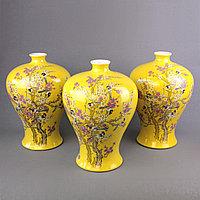 Коллекционные вазы с ручной росписью. (Подарочная коробка)