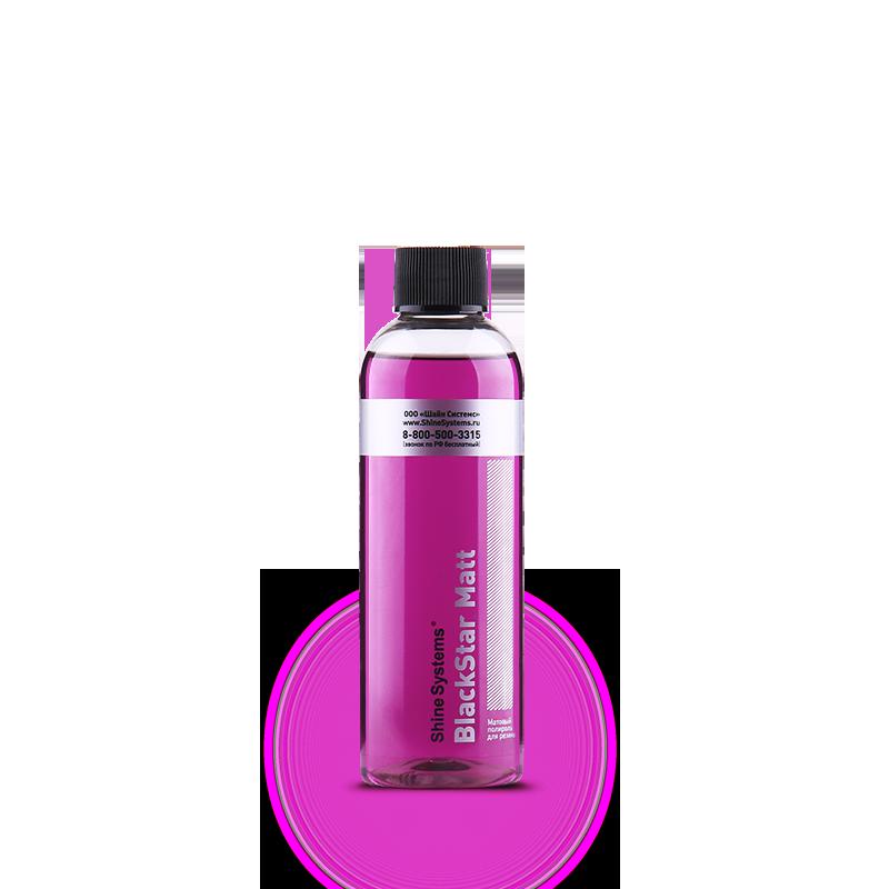BlackStar Matt – матовый полироль для резины (200 мл)