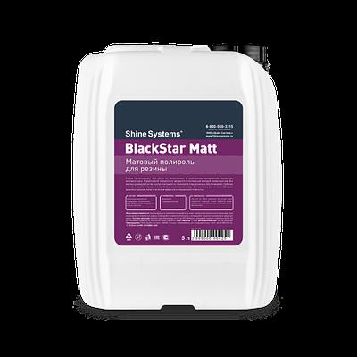 BlackStar Matt – матовый полироль для резины (канистра 5л)