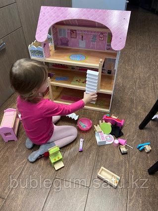 """Кукольный дом с мебелью Edufun """"EF4110"""" высота 70 см"""