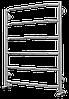 Водяной полотенцесушитель Terminus Виктория П6 632*796 серия Эконом