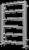 Водяной полотенцесушитель Terminus Виктория П6 532*796 белый, серия Эконом