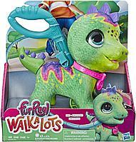 Игрушка Фурриал интерактивный Динозавр на поводке, фото 1
