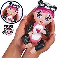 Интерактивная игрушка кукла Tiny Toes панда Габби, фото 1