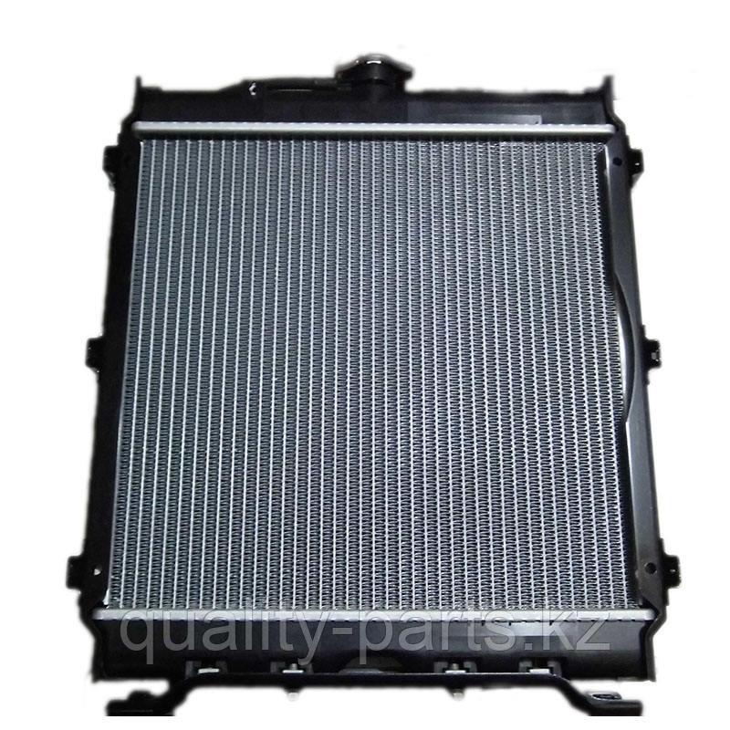 Радиатор на экскаватор погрузчик Case580