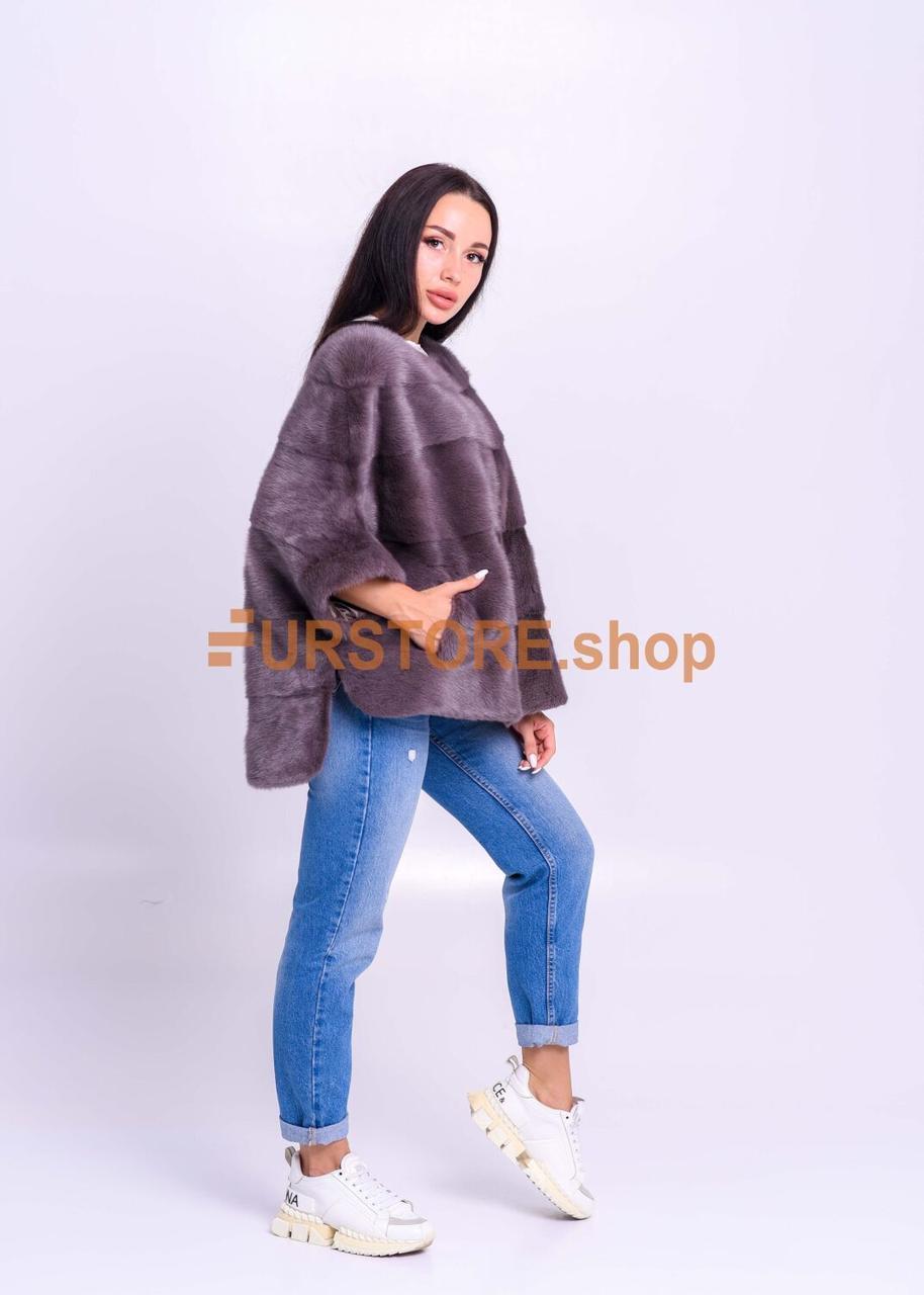 Меховой норковый свитер, премиум качество - фото 2