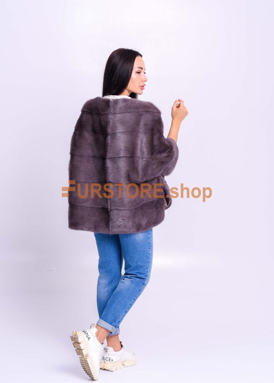 Меховой норковый свитер, премиум качество - фото 3