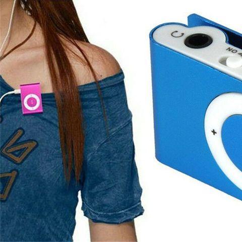 MP3-плеер мини-клип с наушниками myPOD TF/microSD - фото 4