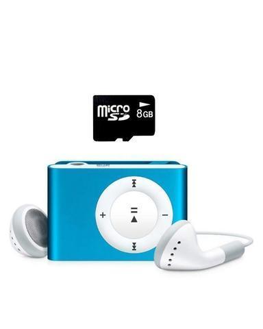 MP3-плеер мини-клип с наушниками myPOD TF/microSD - фото 6