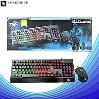 Клавиатура Zeus Keyboard M710 с подсветкой + Мышка (Игровая), фото 1