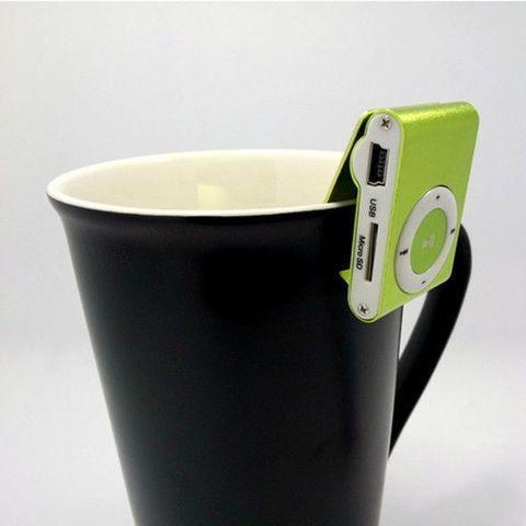 MP3-плеер мини-клип с наушниками myPOD TF/microSD - фото 5