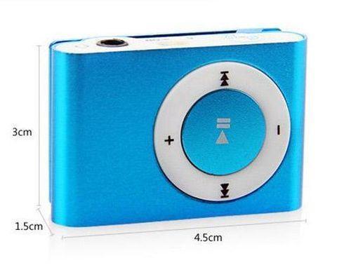 MP3-плеер мини-клип с наушниками myPOD TF/microSD - фото 7