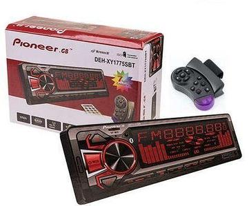 Автомагнитола Pioneer DEH-XY1775SBT Bluetooth с multicolor-подсветкой {USB, microSD, AUX, FM} (с пультом на