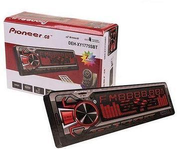 Автомагнитола Pioneer DEH-XY1775SBT Bluetooth с multicolor-подсветкой {USB, microSD, AUX, FM} (без мультируля)