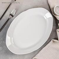 Блюдо овальное Добрушский фарфоровый завод «Бельё», 33 см
