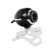 Веб-камера Defender C-090 0.3 МП черный
