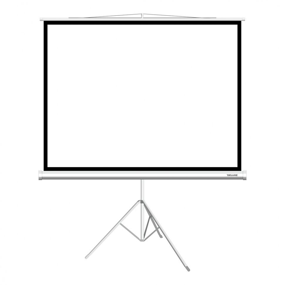 """Экран на треноге Deluxe DLS-T203x154W (80""""х60""""), Ø - 100"""""""