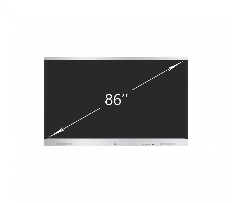 """Интерактивная панель 86"""" IQTouch T-серия + ПК (20 касаний, 3840*2160, UHD4K, i5+8G+128SSD, And5.1)"""