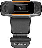 Веб-камера Defender G-lens 2579 HD 720p, 2МП, USB, фото 4