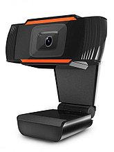 Веб камера CW-850HD Black с матрицей 1 МП, 1280х720, USB 2.0, микрофон, автофокус, 1.5 м