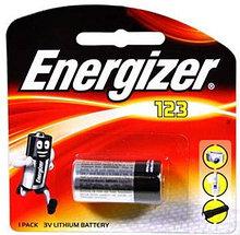 Элемент питания Energizer 123 Lithium - 1 штука в блистере