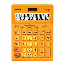 Калькулятор настольный CASIO GR-12C-RG-W-EP желтый