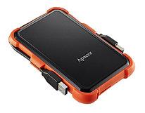 Внешний жесткий диск 2Tb Apacer AC630 Black/Orange (AP2TBAC630T-1)) оранжевый