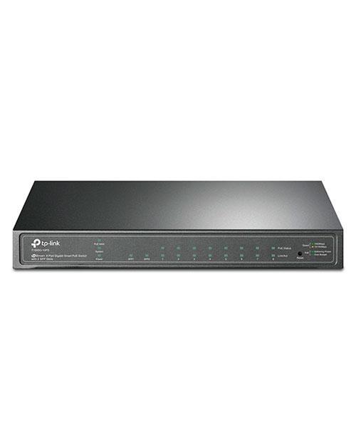 Коммутатор TP-LINK T1500G-10PS JetStream гигабитный 8-портовый