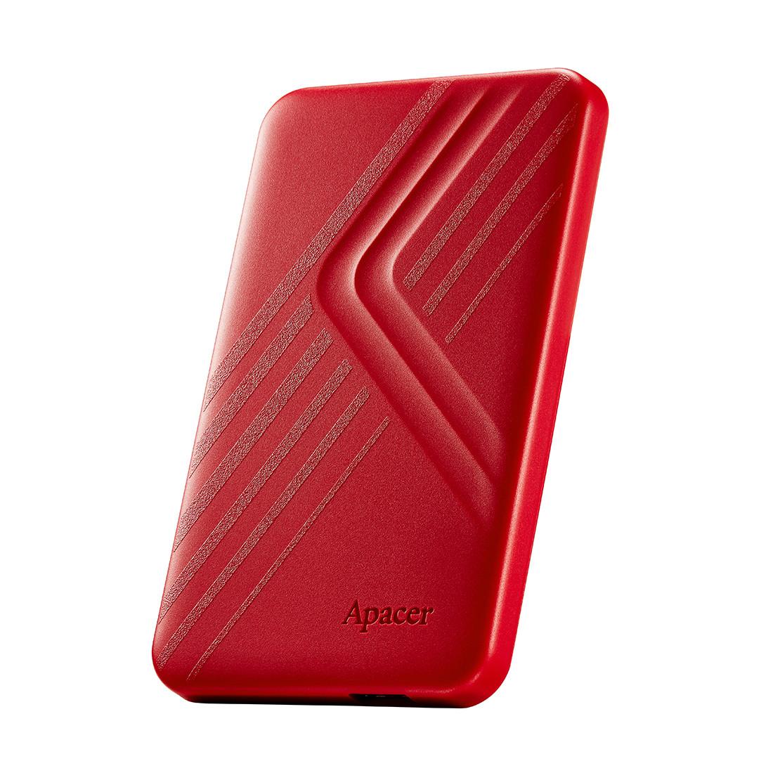 Внешний жёсткий диск  Apacer  AC236  AP1TBAC236R-1  1TB   Красный