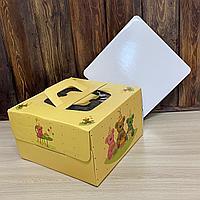 Коробка 25*25*15 цветная