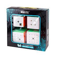 Набор кубиков Moyu Mei Long - цветной пластик. Отличный подарок!