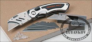 Нож складной со сменным лезвием ChestnutTools