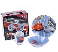 Набор детской посуды Luminarc Disney Cars 3 (3 пр)