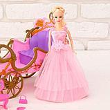 Лошадка ходит с каретой + кукла, световые и звуковые эффекты, фото 4