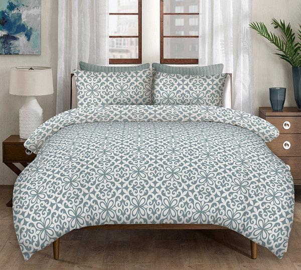 """Комплект постельного белья """"ОЮ голубой"""" 2-х спальный"""