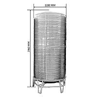 Бак для воды 3000 литров , 3 куба