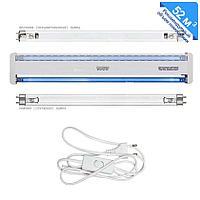 Облучатель бактерицидный ОБН-150 комплект + 2 УФ-лампы, шнур 132 м3/ч