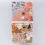 "Набор бумаги для скрапбукинга ""Crazy in love"", Микки и Минни, 12 листов, 29.5 х 29.5 см, 160 г/м², фото 3"