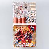 "Набор бумаги для скрапбукинга ""Crazy in love"", Микки и Минни, 12 листов, 29.5 х 29.5 см, 160 г/м², фото 5"