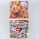 "Набор бумаги для скрапбукинга ""Crazy in love"", Микки и Минни, 12 листов, 29.5 х 29.5 см, 160 г/м², фото 6"