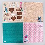 """Набор бумаги для скрапбукинга Me to you """"Уютное настроение"""", 12 листов, 30.5 x 30.5 см, 180 г/м², фото 2"""