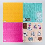 """Набор бумаги для скрапбукинга Me to you """"Уютное настроение"""", 12 листов, 30.5 x 30.5 см, 180 г/м², фото 4"""
