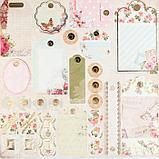 """Набор бумаги для скрапбукинга 24 листа 12 дизайнов """"Цветочная эйфория"""" 30х30 см, фото 8"""