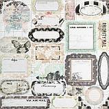 """Набор бумаги для скрапбукинга 24 листа 12 дизайнов """"Ретро серия"""" 30х30 см, фото 8"""