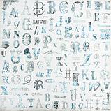 """Набор бумаги для скрапбукинга 24 листа 12 дизайнов """"Ретро серия"""" 30х30 см, фото 9"""