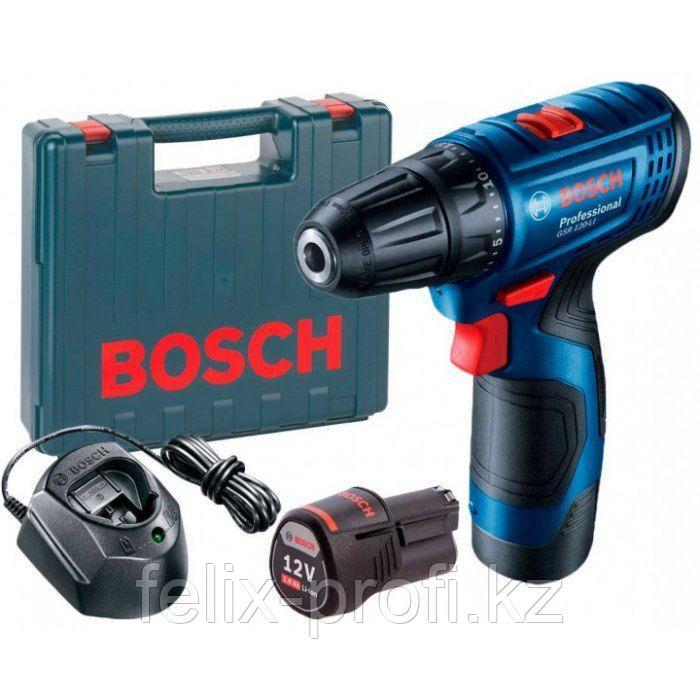 Профессиональный аккумуляторный дрель-шуруповерт Bosch GSR 120 LI